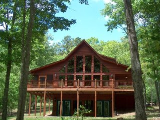 Large Lakefront Cabin With Private Boat Dock And No Cleaning Fee