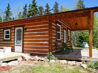 Modern Log Cabin On The Bras D'or Lakes