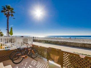 Beachfront, Boardwalk, Private Rooftop