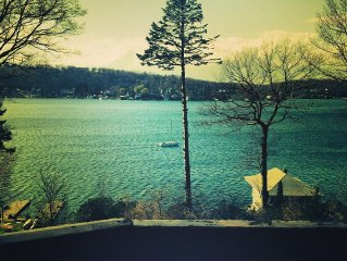 A Magical Place Only An Hour From NYC With Stunning Sunset Views & Boating Dock