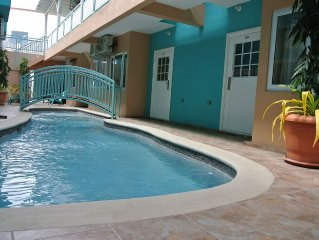 2Br Condo - In The Heart Of Crown Point, Tobago. Best Beaches Around The Corner