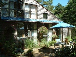 The Studio Cottage: Hidden Gem in Wellfleet's Pond District
