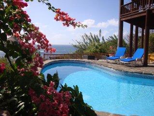 ZANDOLI: Romantic Caribbean Villa-Tropical Paradise-ST LUCIA JAZZ