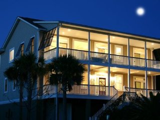 Luxury home - great area on IOP, dual masters, elevator, private yard/pool