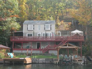 Rustic Keuka Lake Getaway with Fantastic Viewp