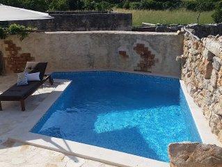 Stone House,  Luxury, Pool, Garden, 3 Bedrooms+2/