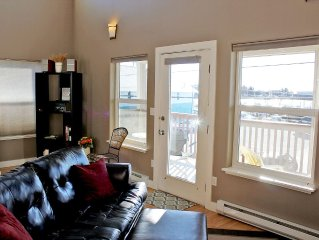 Katlian Street Suite B with an Ocean View & Clean, Modern Finishes Near Downtown