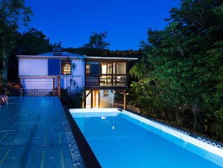 New Moon Escape–Affordable St John Cottage & Amazing Tropical Gardens