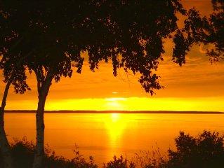 Custom Lake Michigan home with amazing views