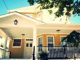 5min Walk to Asbury Park Beach! 4BR/2BA w/Parking! (STR# *********)