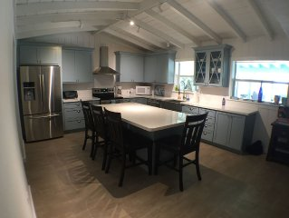 Beautifully renovated waterfront home with private dock