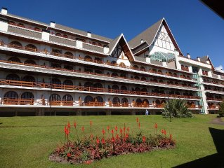 Excellent apartment for season on the mountain in Campos Do Jordao