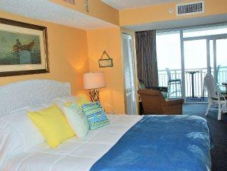 Island Time Romantic Honeymoon Suite; Direct Oceanfront Balcony; 6th floor