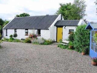 Authentic, charming, eighteenth century rural Irish stone cottage NITB 3 Star