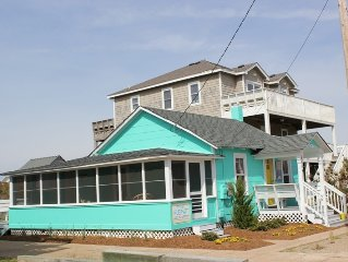 Circa 1953 beach cottage...this is 'old school' beach at it's best!