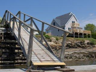 Beautiful, New, Coastal Home, Quiet,Pristine Muscongus Harbor. Near Round Pond.