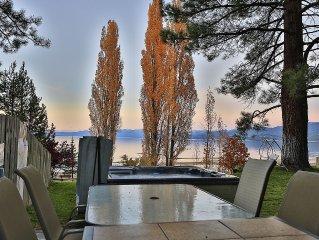 Executive Lake House, Luxurious Beachfront 6 Bedroom, Hot Tub, Kayaks, SUP's