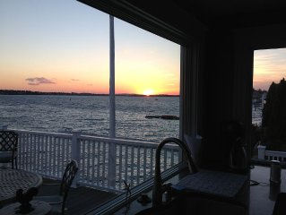 Sunset Point direct waterfront home