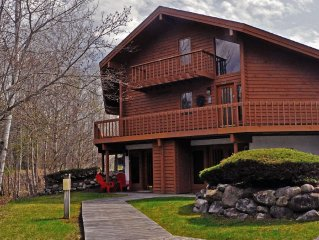 New beautiful updates 1bdrm on Schuss golf course walk to slopes WIFI! must see
