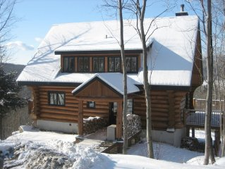 5 Star Luxury: Mt-Tremblant Mountain View Chalet **Mid-wk/last minute specials**