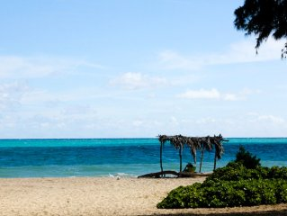 Tropical Beachside Cottage~5 miles of White Sand and Turquoise Sea  (from $239)