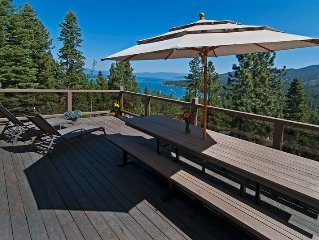 Luxury Lake View Cabin - Lawn & Lakeview. Centrally located. New gourmet kitchen