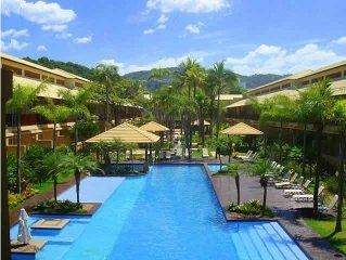 Apartment on the beach standing on the sand! Cove - Guaruja