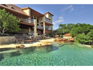 PARADISE ESTATE--5 Bdrm, Great Gameroom, Infinity Pool/Spa, Lake Travis Access