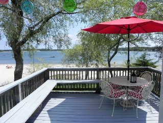 Waterfront Cottage On Buttermilk Bay At Indian Mound Beach