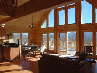 Hunter/Windham luxurious log home million dollar views