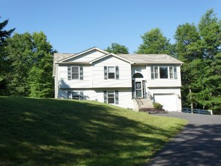 Dream Vacation Home In Heart Of Poconos next to Kalahari. Hot tub, pool, sauna