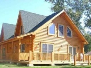 Beautiful Luxury Log Home Rental. Call Us First!!!