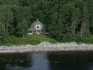 Everyone's Idea of a Real Maine Cottage