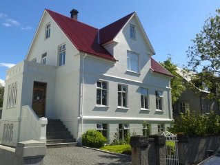 Visit Reykjavik and stay central at 32 Tungata Exclusive Apartment