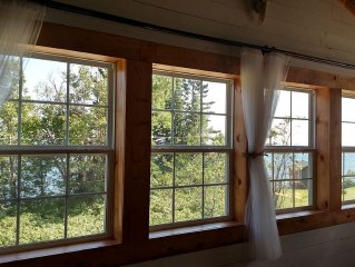 Newly Built Croftville Loft 2 miles upshore from Grand Marais