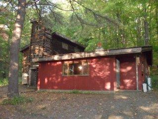 Rustic Retreat on Seneca Lake - Romantic, Kid and Dog Friendly.
