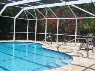 5 MIN WALK TO BEACH, private pool, newly renovated Home