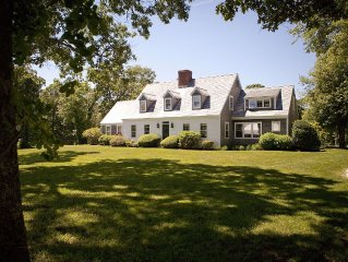 Lovely pastoral setting: Elegant farmhouse and guest house.