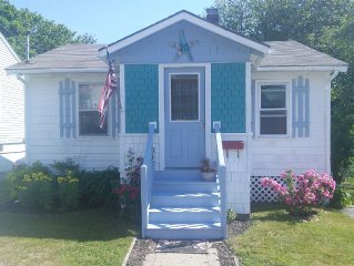 Cute Cottage 5 minute walk to OOB pier, amusement park and ocean