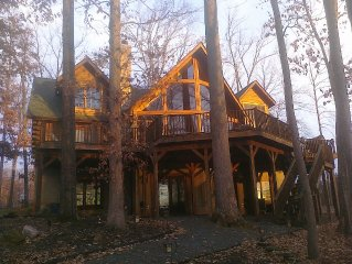 Lake Anna Log Cabin Life