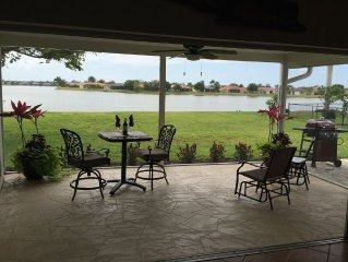 Relaxing Lake Front Property Awaits You!