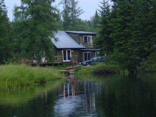 4 Season Adirondack Waterfront Cabin