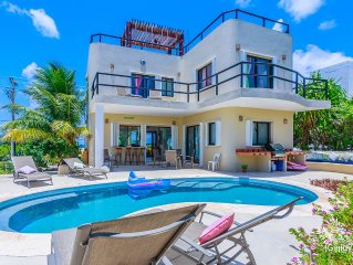 Fantastic 3 Bedroom House with  Pool  in Punta Sur