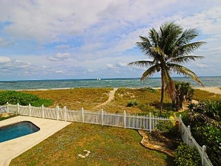 DIRECT BEACHFRONT on Ocean!! - Private Home!! FALL Specials $4595/Week!