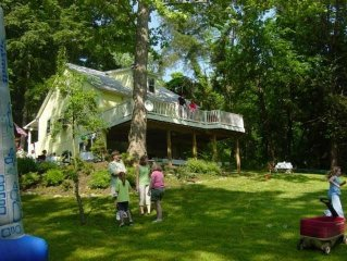 Quiet Country Get Away on 2 acres adjacent to the Potomac River and C&O Towpath