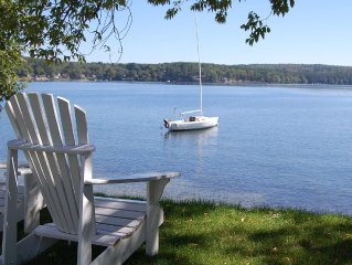Beautiful Condo on Lake Winnipesaukee with Private Beach, Pools, Tennis and More