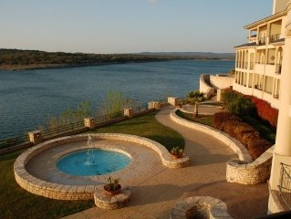 Luxury Condo on its Own Private Island on Lake Travis