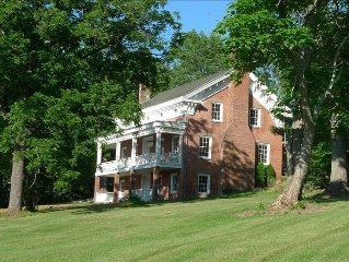 High Falls 1840 Greek Revival on 10 Acres