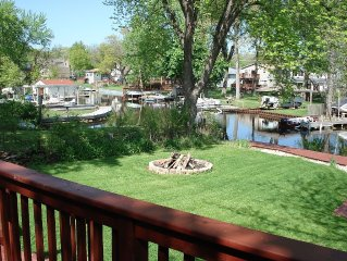 Cute Waterfront Cottage On Long Lake W/ 50 Foot Private Dock & Pier