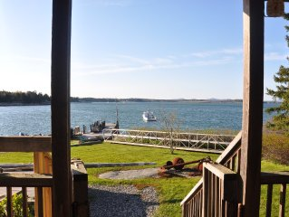 Cozy Waterfront Cottage, Comfortably Appointed, Great Views